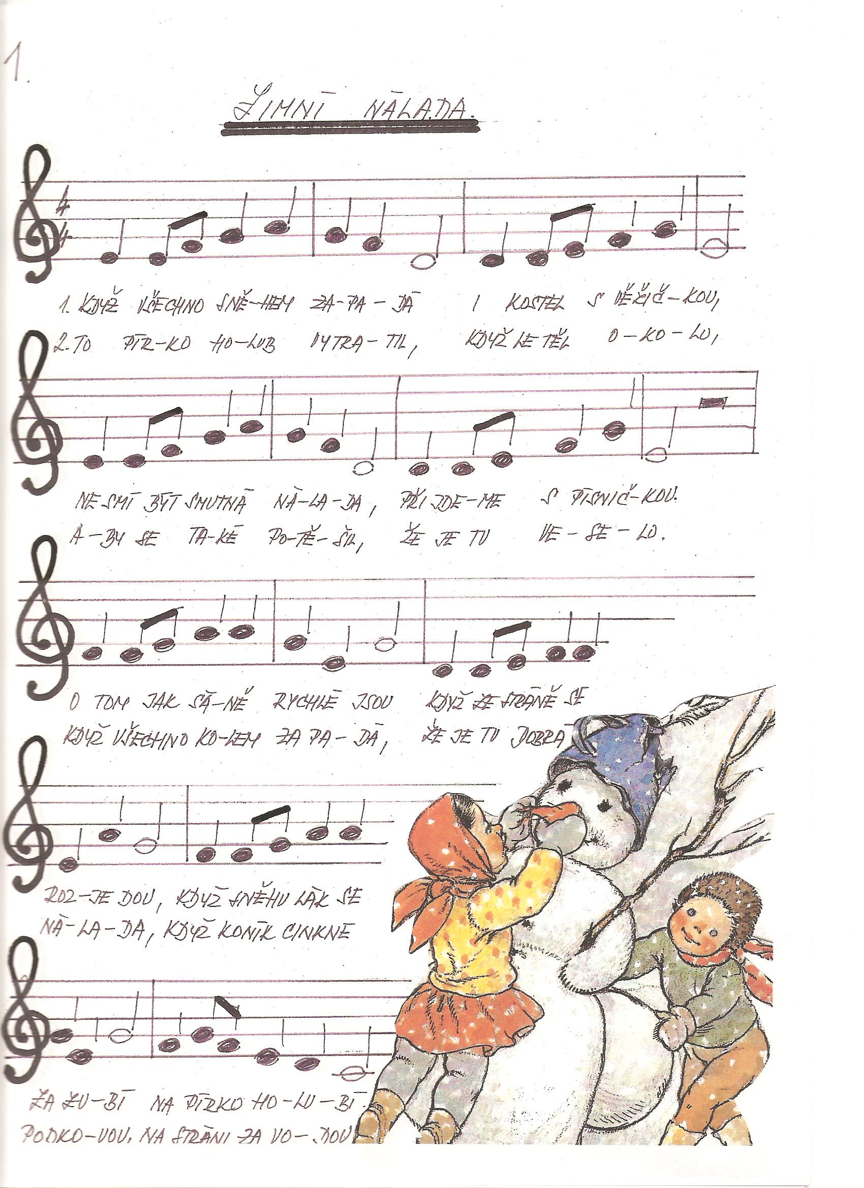 Pisnicky Hudebni Vychova Archives Page 4 Of 5 Predskolaci