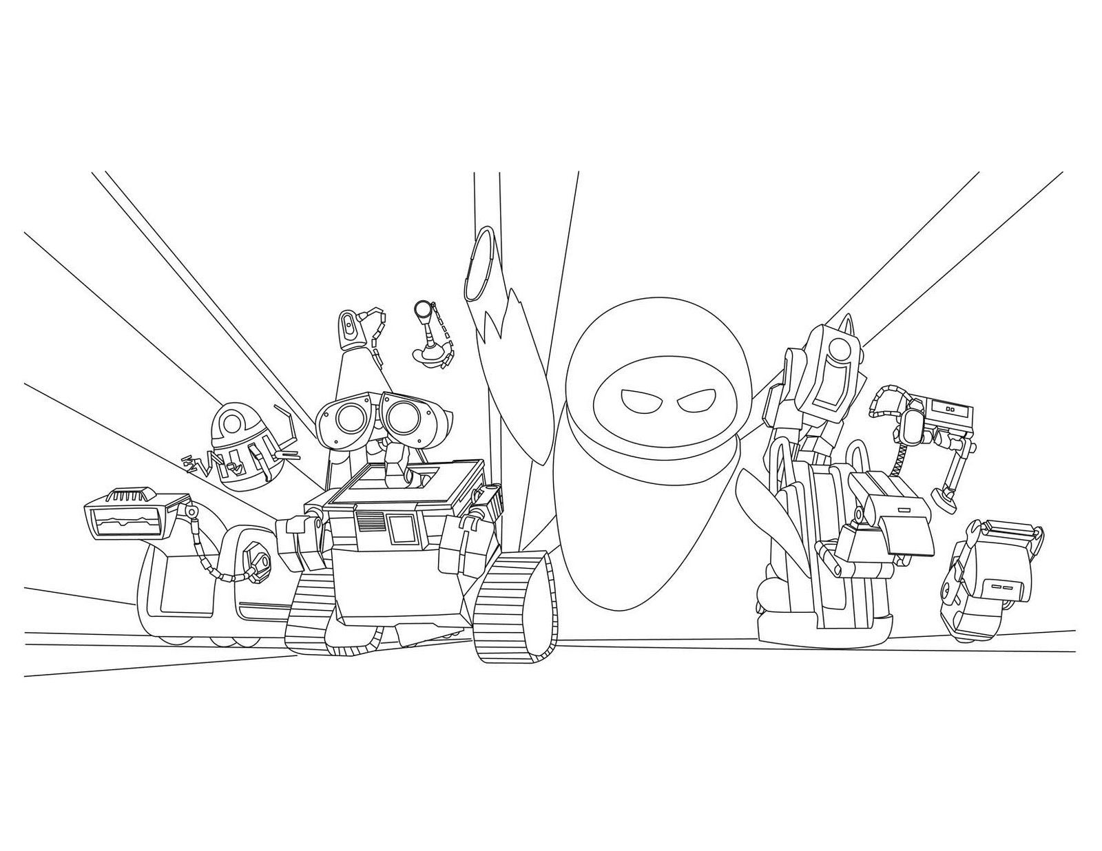 wall_e coloring pages - photo#18