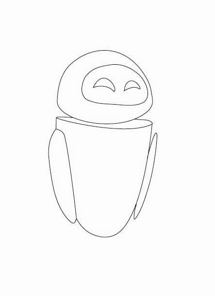 wall e and eve coloring pages - wall e omalov nky p ed kol ci omalov nky pracovn