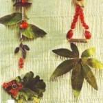 podzimni vyrobky podzim  : retezy 150x150 Podzimní řetězy
