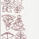 vánoční závěsy