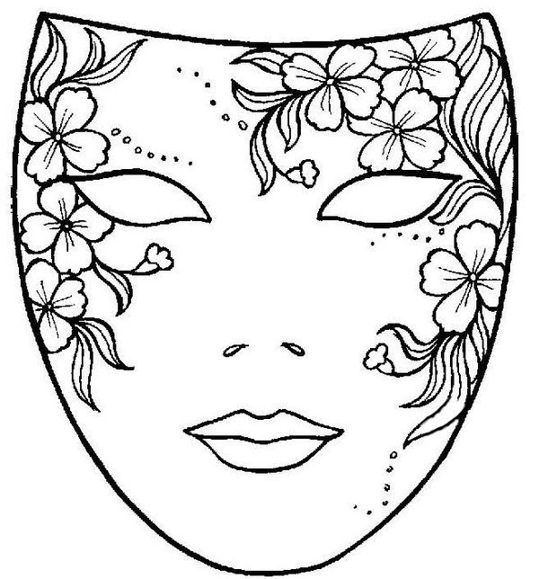 La máscara a los ojos de carnaval para el muchacho