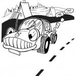 omalovanky vymalovanky  : auta k13 150x150 Auta, automobily, autíčka