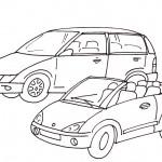 omalovanky vymalovanky  : auta2 150x150 Auta, automobily, autíčka