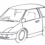 omalovanky vymalovanky  : auto1 150x150 Auta, automobily, autíčka