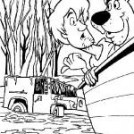pohadkove omalovanky  : scooby doo 08 150x150 Scooby Doo