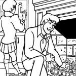 pohadkove omalovanky  : scooby doo 18 150x150 Scooby Doo