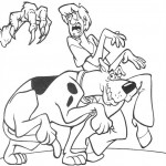 pohadkove omalovanky  : scooby doo 21 150x150 Scooby Doo