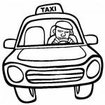 osoby omalovanky  : taxikar 150x150 Povolání
