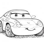 omalovanky vymalovanky  : vesele auto 150x150 Auta, automobily, autíčka