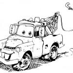 omalovanky vymalovanky  : vesely nakladak 150x150 Auta, automobily, autíčka