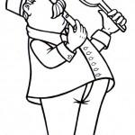 osoby omalovanky  : vypravci 150x150 Povolání