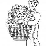 osoby omalovanky  : zelinar 150x150 Povolání