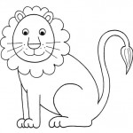 zvirata omalovanky  : zviratka lev 150x150 Zvířátka A Ž