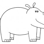zvirata omalovanky  : zviratka nosorozec 150x150 Zvířátka A Ž
