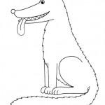 zvirata omalovanky  : zviratka vlk 150x150 Zvířátka A Ž