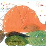 zvirata beletrie  : vytvarne prace obr 1 150x149 Výtvarné práce s pohádkami (Ježek v listí)
