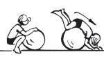 hry knihy casopisy 3 8 let  : balancni mice certik obr8 150x95 Cvičení pro zdraví s balančními míči a dalšími pomůckami