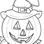 podzimni omalovanky  : halloween 01 150x150 Halloween