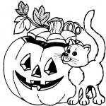 podzimni omalovanky  : halloween 13 150x150 Halloween