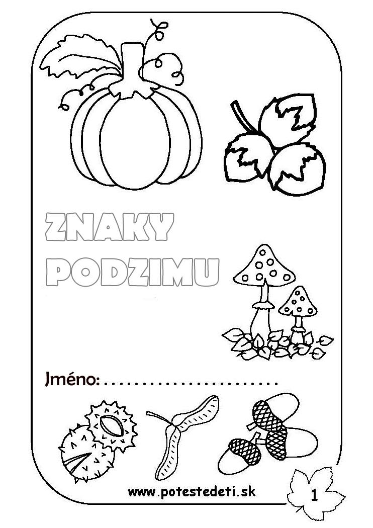 Metodický list podzim