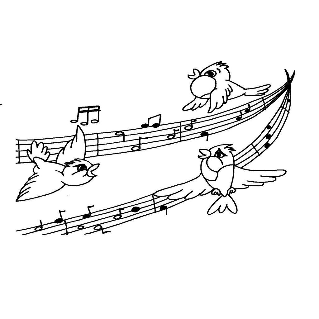 Hudba Predskolaci Omalovanky Pracovni Listy Predskolaci