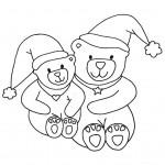 zima omalovanky vanoce omalovanky  : zima vanoce medvidci 150x150 Zima a Vánoce