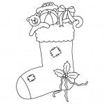 zima omalovanky vanoce omalovanky  : zima vanoce ponozka 150x150 Zima a Vánoce