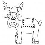zima omalovanky vanoce omalovanky  : zima vanoce sobik 150x150 Zima a Vánoce