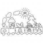 zima omalovanky vanoce omalovanky  : zima vanoce vanocni vlak 150x150 Zima a Vánoce