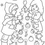 vanoce omalovanky  : vanocni stromecek 004 150x150 Vánoční stromeček