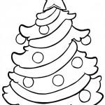 vanoce omalovanky  : vanocni stromecek 013 150x150 Vánoční stromeček