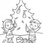 vanoce omalovanky  : vanocni stromecek 016 150x150 Vánoční stromeček