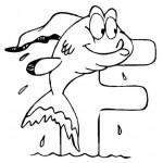 zvirata omalovanky abeceda omalovanky  : alphabet fish 150x150 Zvířecí abeceda (anglická)