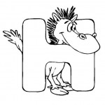 zvirata omalovanky abeceda omalovanky  : alphabet horse 150x150 Zvířecí abeceda (anglická)