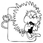 zvirata omalovanky abeceda omalovanky  : alphabet lion 150x150 Zvířecí abeceda (anglická)