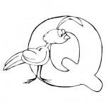 zvirata omalovanky abeceda omalovanky  : alphabet quayle 150x150 Zvířecí abeceda (anglická)