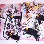strasidla atd  : carodejnice s kockami 150x150 Čarodějnice s kočkami