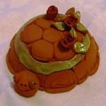 zvirata modelovani vytvarna vychova dekorace vytvarna vychova  : keramicka zelvicka 2010 150x150 Keramická želvička