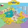 Interaktivní mluvící a výuková mapa ČR