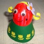 velikonocni svatky velikonoce vytvarna vychova  : holcicka vajicko velky 150x150 Postavička z vajíčka   holčička