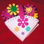 rostliny kvetiny kvetinky jarni tvoreni jarni omalovanky  : jarni kvetiny v kosicku 150x150 Jarní květinové tvoření