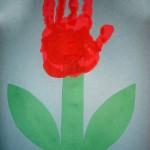 rostliny kvetiny kvetinky jarni tvoreni jarni omalovanky  : jarni tulipan ruka 150x150 Jarní květinové tvoření