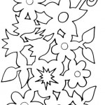 jarni vystrihovanky kvetinovy pas