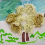 velikonocni svatky velikonoce vytvarna vychova  : jehnatko z vlny 2010 04 07 150x150 Jehňátko