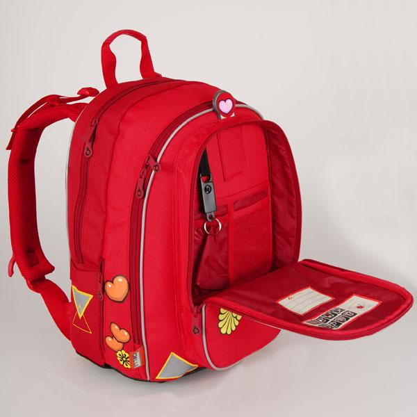 8af109f695f Školní batohy - prvky pasivní bezpečnosti - Předškoláci - omalovánky ...