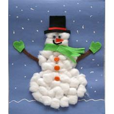 Зимние поделки снеговики своими руками