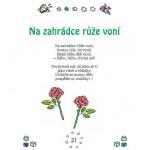 literatura 3 8 let  : na zahradce ruze voni 150x150 Nejkrásnější říkanky pro nejmenší