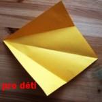origami slepicka 01