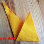 origami slepicka 07